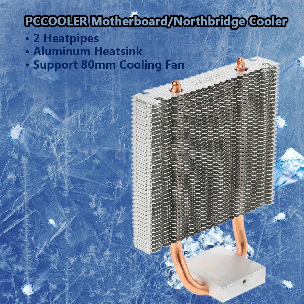 Hydraulic CPU Cooler Heatpipe Fans Quiet Heatsink Radiator for Intel Core J6S7