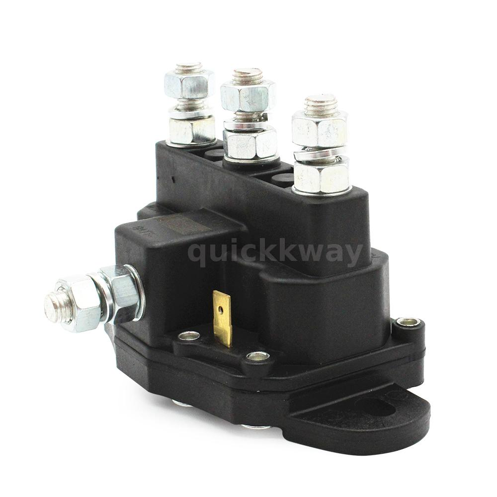 12v Winch Motor Contactor Reversing Solenoid Contactor Relay 6 Terminal Usa X4t2